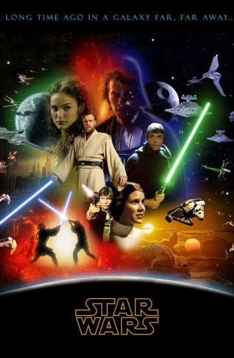 Star Wars. Épisode 1 à 6.